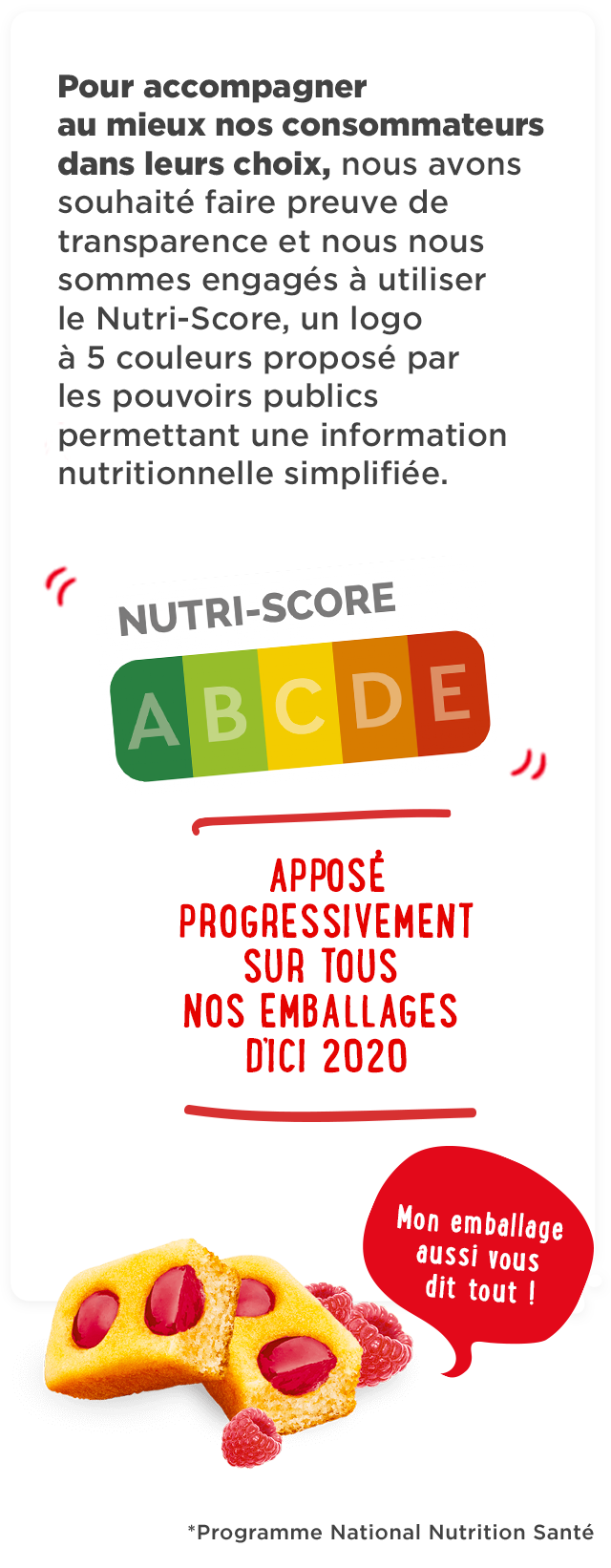 qualité nutritionnelle - mobile